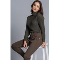 Calça Jeans Skinny Sirena Verde Hunter - Lez A Lez