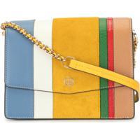 Tory Burch Robinson Colour-Block Bag - Amarelo