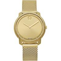 Relógio Movado Feminino Aço Dourado - 3600242