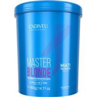 Cadiveu Master Blonde Pó Descolorante Azul 400G - Kanui