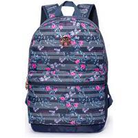 Mochila Hang Loose 17L Bolsa Reforçada Notebook 15 Azul Azul/Rosa