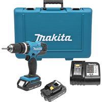 Furadeira/Parafusadeira Bateria E Bits Dhp453She Makita 127V