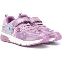 Geox Kids Graphic Print Sneakers - Rosa