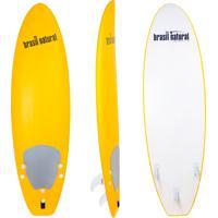 Prancha De Surf 5.8 Mini Fun New Edition Amarelo + Kit Surf - Brasil Natural