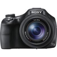Câmera Digital Sony Dsc-Hx400 Com 20.4 Mp, Foto 3D, Zoom Óptico De 50X, Lentes Carl Zeiss, Lcd 3,0