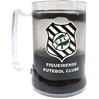 Caneca Gel Figueirense Escudo Preta