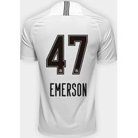 Netshoes  Camisa Corinthians I 18 19 Nº 47 Emerson - Torcedor Nike  Masculina - Masculino e61f138cd845a