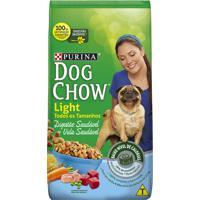 Ração Para Cães Dog Chow Adultos Light Todos Os Tamanhos Com 15Kg