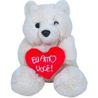 Urso De Pelúcia 313 Toys Paupei Multicolorido