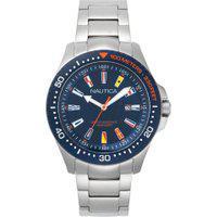 Relógio Nautica Masculino Aço - Napjbc004