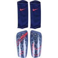 Caneleira Nike Mercurial Lite Grd C/ Malha - Unissex-Azul