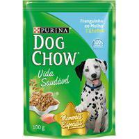 Ração Para Cães Dog Chow Vida Saudável Filhotes Sachê Sabor Franguinho Ao Molho Com 100G