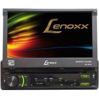 """Dvd Player Automotivo Lenoxx Ad2619 Com Tela Retrátil Touch Screen De 7"""" , Rádio Fm, Entradas Usb, Sd, Auxiliar E Controle Remoto"""