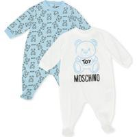 Moschino Kids Conjunto Teddy Bear 2 Peças - Azul