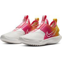 Tênis Infantil Nike Flex Runner Sun Feminino - Feminino-Branco+Rosa