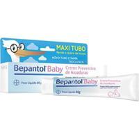 Bepantol Baby Maxi Turbo Bayer - Creme Preventivo De Assaduras 60G - Unissex-Incolor