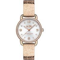 Relógio Coach Feminino Aço Rosé - 14502355