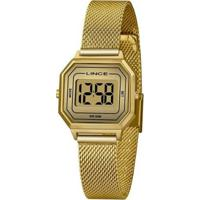 Relógio Lince Classico Sdph128Lcxkx Feminino - Feminino-Dourado