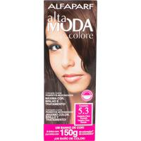 Tintura Creme Altamoda Alfaparf Caramelo 5.3 Kit