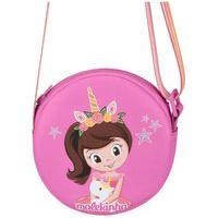 Bolsa Infantil Transversal Boneca Molekinha 20002.1 Rosa Pink