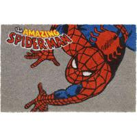 "Capacho Spider Man® ""Amazing""- Cinza & Vermelho- 1,5Mabruk"