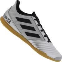 Chuteira Futsal Adidas Predator 19.4 In - Adulto - Cinza Cla/Preto
