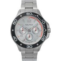 Relógio Nautica Masculino Aço - Napp25005