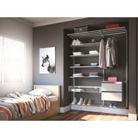 Closet Aramado - Ambiente 03 Com 1,40 Branco - Getama Moveis