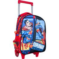 Mochilete Superman Ic32224Sm Vermelha