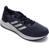 Tênis Adidas Solar Blaze Masculino - Masculino-Marinho+Branco