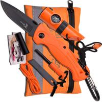 Kit De Sobrevivência C/ Canivete Elk Ridge Er-Pk4