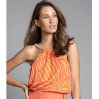 Blusa Corrente Estampa Shell - Lez A Lez