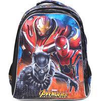 77b8b6f97 CEA; Mochila Escolar Infantil Xeryus Avengers Armored - Masculino