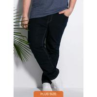 Calça Azul Jeans Tradicional Cintura Alta