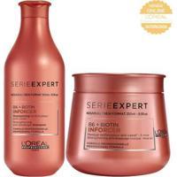 Kit Shampooampoo + Máscara L'Oréal Professionnel Serie Expert Inforcer - Unissex-Incolor