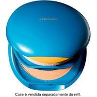 Base Facial Shiseido Refil - Uv Protective Compact Foundation Fps35 - Medium Ivory - Sp50 - Feminino-Incolor