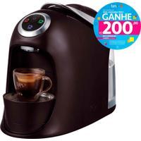 Máquina De Café Espresso E Multibebidas Automática Versa Preta Três Corações - 1,2L De Capacidade, Descarte Automático, Pressões Entre 15 E 2 Bar