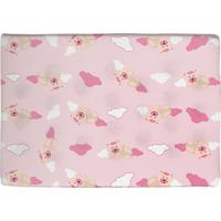 Travesseiro Para Bebê Antissufocante Bercinho Ursinha Rosa