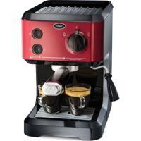 Cafeteira Expresso Cappuccino Vermelha Oster 127V
