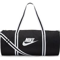 Bolsa Nike Heritage Duff - Unissex-Preto+Branco