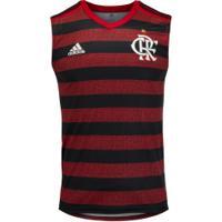 Camiseta Regata Do Flamengo I 2019 Adidas - Masculina - Vermelho/Preto