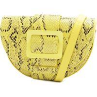 Pochete Com Textura Animal- Amarela & Pretaschutz