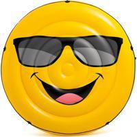 Ilha Emoji Cool Guy Amarela 57254 Intex