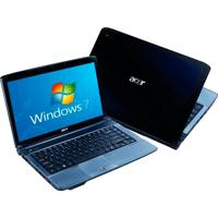 "Notebook Acer As4740-5656 - Preto - Intel Core I3-330M - Ram 3Gb - Hd 250Gb - Tela 14"" - Windows 7 Home Premium"