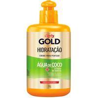 Creme Para Pentear Niely Gold Hidratação Água De Coco + Extrato De Babosa Com 280Ml 280Ml
