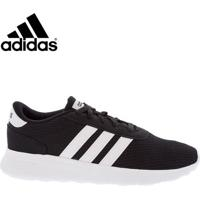 Tênis Masculino Adidas Detalhe Listras Preto