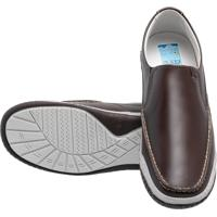 Sapato Atron Shoes Confort Café