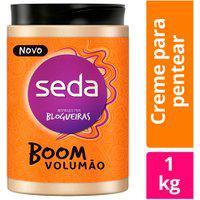 Creme De Pentear Seda Boom Volumão 1Kg