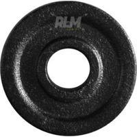 Anilha De Ferro Fundido Pintada - 0,5 Kg - Unissex