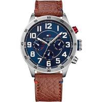 Relógio Tommy Hilfiger Masculino Couro Marrom - 1791066